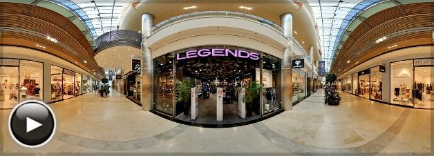 Allee Legends Store, Bejárat, Budapest