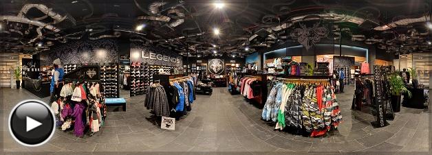 Allee Legends Store, Belső Panoráma 2, Budapest