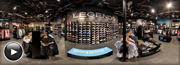 Allee Legends Store, Belső Panoráma 3, Budapest