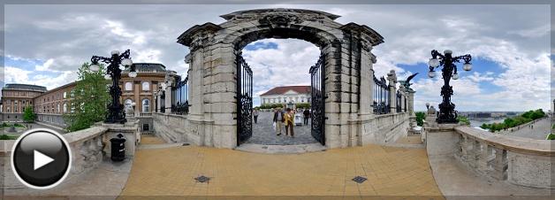 Budai Vár, Habsburg kapu, Budapest