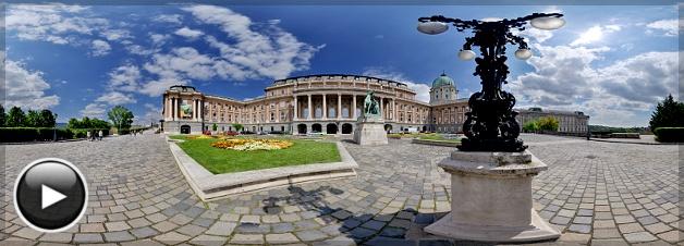 Budai Vár, A Nemzeti Galéria délnyugati oldala, Budapest