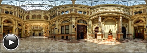 Budapesti Corvinus Egyetem, Közgáz Aula, Fővám tér