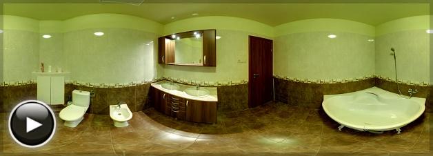 Csiki-Berek Ökolakópark, Emeleti fürdőszoba, Veresegyház
