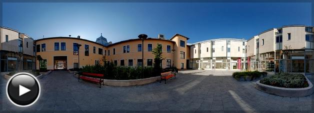 Erzsébetkirályné Szálloda, Udvar, Gödöllő