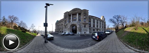 Gellért Gyógyfürdő, Bejárat, Budapest