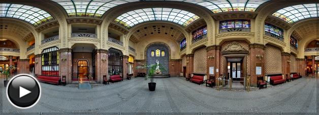 Gellért Gyógyfürdő, Hall, Budapest