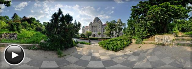 Gellért Gyógyfürdő, Homlokzat, Budapest