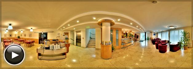 Jagelló Business Hotel, Előtér és étterem, Budapest