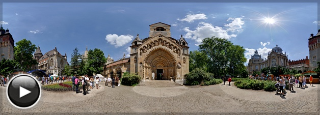 A Jáki Kápolna homlokzata, Budapest