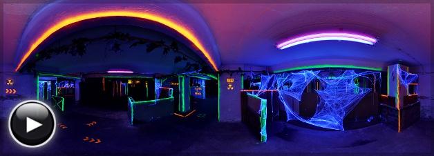 Laser Force Aréna - Halloween szint 1, Budapest