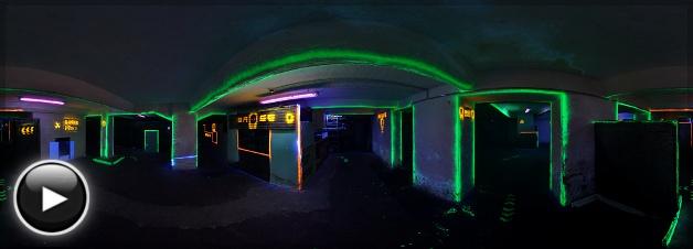 Laser Force Aréna - Halloween szint 2, Budapest
