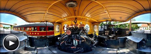 Mozdonyfesztivál, MÁV 7111 mozdony belülről, Budapest