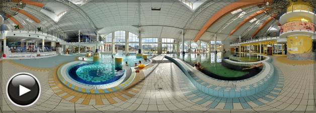Sárvári Gyógy- és Wellnessfürdő - Gyógyfürdő medencetér