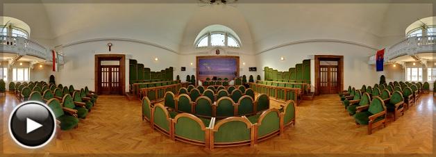 Vác Polgármesteri Hivatalának tanácsterme, Vác