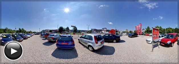 Vario Autó, Értékesítő tér, Pécs