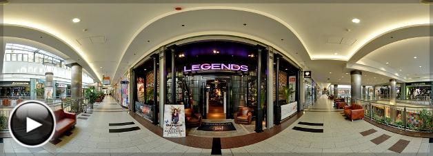 Westend Legends Store, Bejárat, Budapest