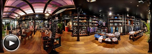 Westend Legends Store, Belső Panoráma 3, Budapest