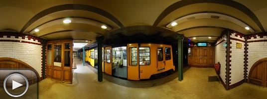 Panoráma - Milleniumi Földalatti Vasút, Kodály körönd, Budapest